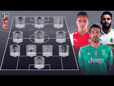 شاهد أفضل تشكيلة لاعبين سيغيبون عن مونديال روسيا 2018