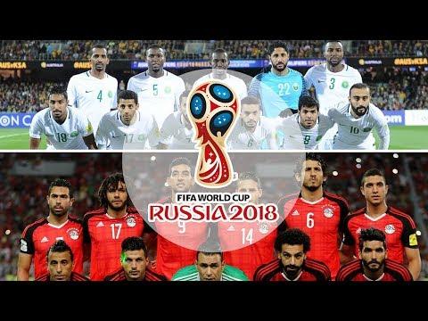 قائمة المنتخبات المتأهلة إلى كأس العالم 2018