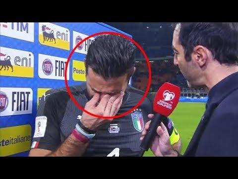 شاهد عندما يبكي نجوم وأساطير كرة القدم