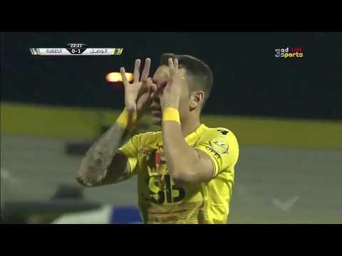 شاهد أهداف مباراة الوصل والظفرة