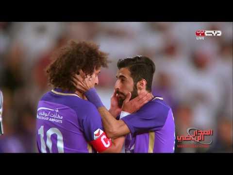 شاهد أهداف مباراة فريقي العين والجزيرة