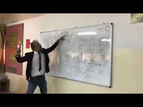 شاهد معلم فيزياء في الأردن يبتكر طريقة حديثة في شرح مادة الفيزياء