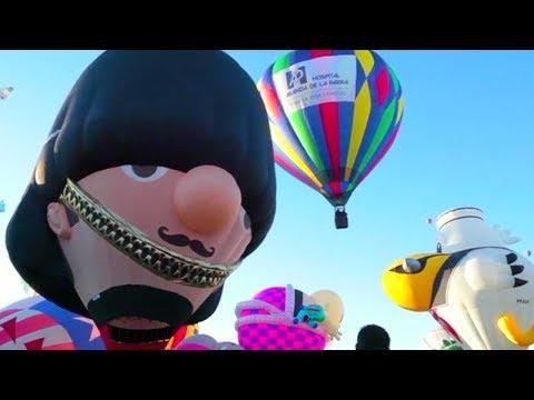 شاهد انطلاق مهرجان بالون الدولي بالمكسيك
