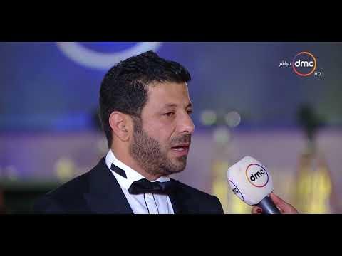 شاهد  لقاء مع إياد نصار من على الريد كاربت في مهرجان القاهرة