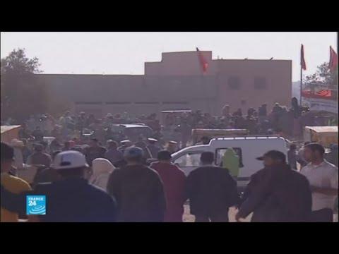 شاهد مقتل 15 شخصًا في تدافع خلال توزيع مساعدات غذائية في إقليم الصويرة