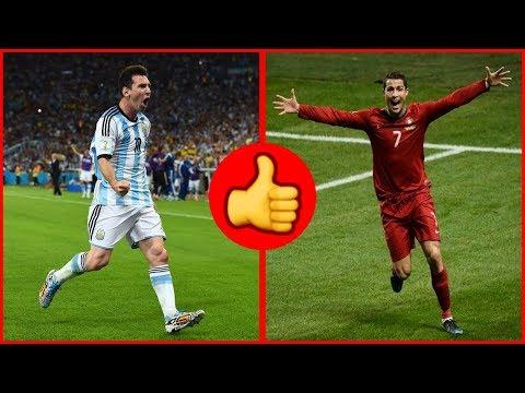 شاهد عندما أهّل رونالدو وميسي منتخب بلادهما إلى كأس العالم