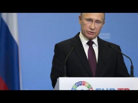 شاهد النزاع السوري يجمع بوتين وروحاني وأردوغان