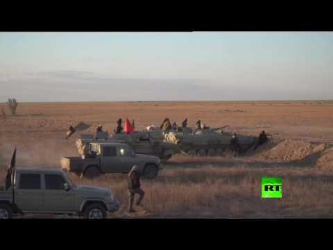 شاهد انطلاق عمليات واسعة لتصفية داعش بمناطق الجزيرة في العراق