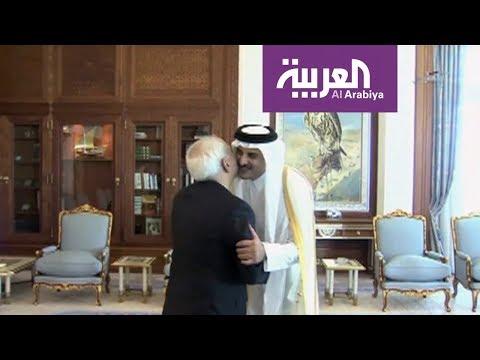 شاهد وزير الاقتصاد والتجارة القطري في إيران لزيادة حجم التطبيع