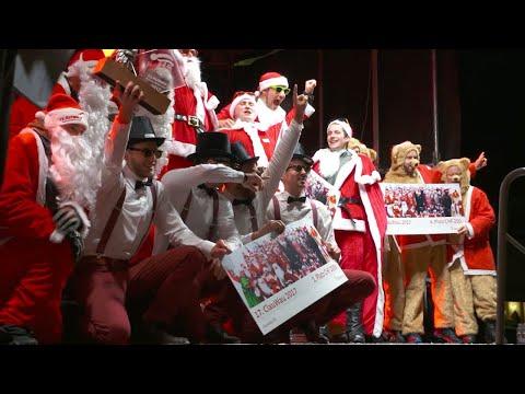 شاهد بطولة العالم لـ  سانتا كلوز بمشاركة 27 فرقة