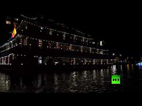 انطلاق مهرجان الضوء في هولندا