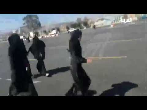 ميليشيات الحوثيين تطلق النار على تظاهرة نسائية
