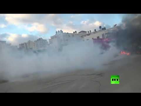 شاهد القوات الإسرائيلية تستهدف طاقم rt في رام الله