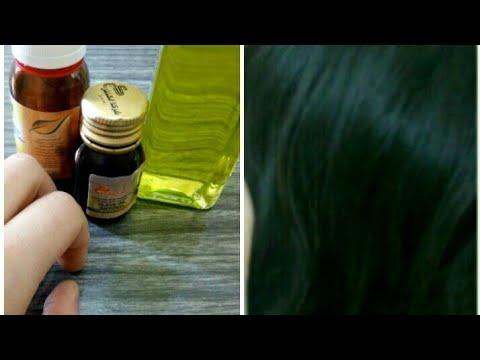 شاهد وصفة من الزيوت لفرد الشعر في دقيقة واحدة