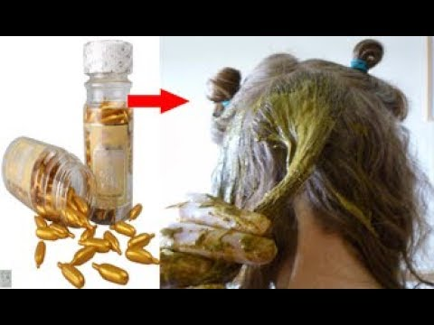 بالفيديو وصفة جديدة لتطويل الشعر وتكثيفه
