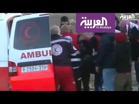 شاهد الاحتلال الاسرائيلي يستهدف المسعفين ثم يحرّض عليهم