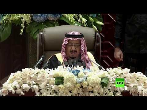شاهد خادم الحرمين يلقي خطابًا استثنائيًا في مجلس الشورى