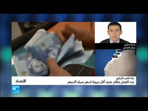 شاهد بدء العمل بنظام جديد أكثر مرونة لسعر صرف الدرهم المغربي
