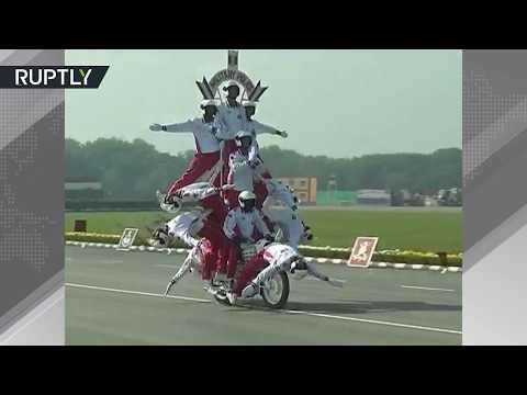 بالفيديو استعراض القوات المسلحة الهندية
