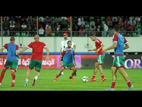 شاهد بث مباشر لمباراة المغرب ضد غينيا