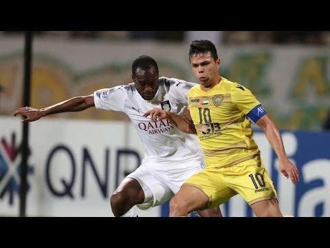 شاهد ملخص مباراة الوصل الإماراتي و السد القطري