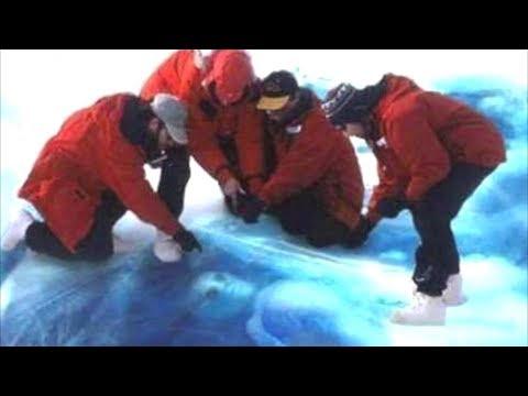 شاهد العثور على كائنات فضائية مجمدة بالقطب الجنوبي