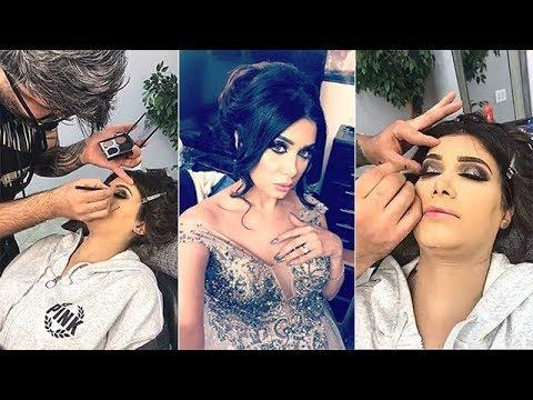 دالي العراقية في صالون التجميل
