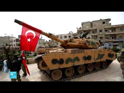 شاهد عفرين تحت سيطرة القوات التركية والفصائل الموالية لها
