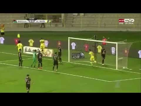 شاهد أهداف مباراة الوصل وشباب الأهلي دبي