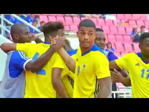 شاهد أهداف مباراة المنتخب الإماراتي أمام الغابون