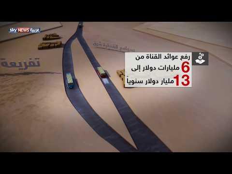 الرئيس السيسي يهتم بتنمية محور قناة السويس