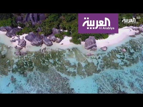 شاهد السياحة عبر العربية في جزر السيشل مع ليث بزاري