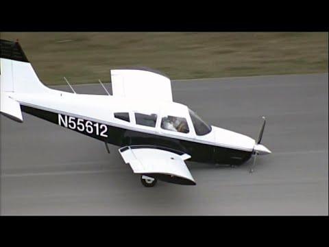 شاهد كابتن طائرة يسجد شكرا لله بعد هبوط اضطراري