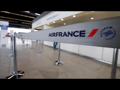 بالفيديو إضراب في الخطوط الفرنسية