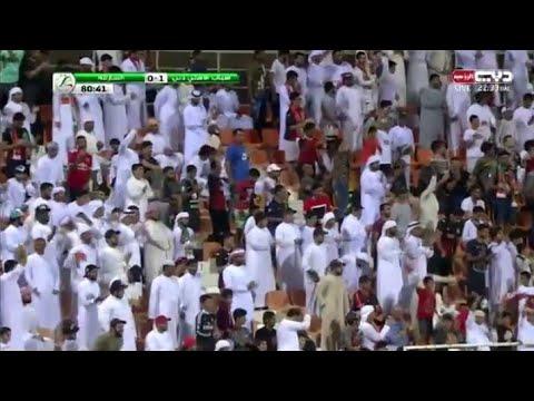 شاهد هدف شباب أهلي دبي فى شباك الشارقة