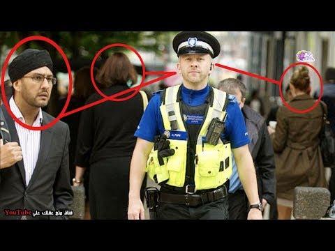شاهد  شرطي حقيقي خارق يحفظ وجوه الجميع