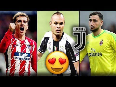 شاهد 7 لاعبين سيتعاقد معهم يوفنتوس صيف 2018