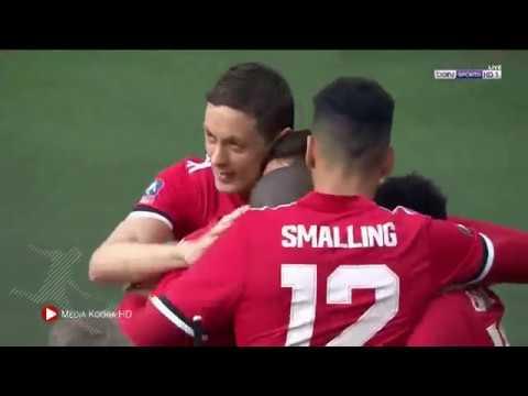 شاهد أهداف مباراة مانشستر يونايتد وتوتنهام المنتهية 2 1