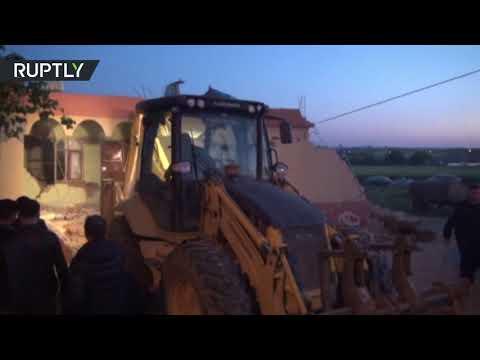 شاهد زلزال يضرب مناطق في تركيا