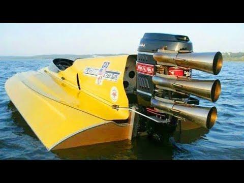 شاهد أغرب أنواع القوارب