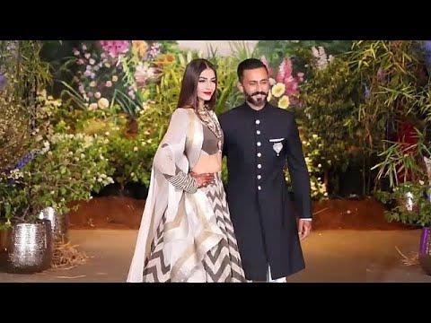 شاهد حفلة زفاف الممثلة سونام كابور