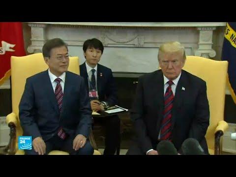 شاهد رئيس كوريا الجنوبية في البيت الأبيض