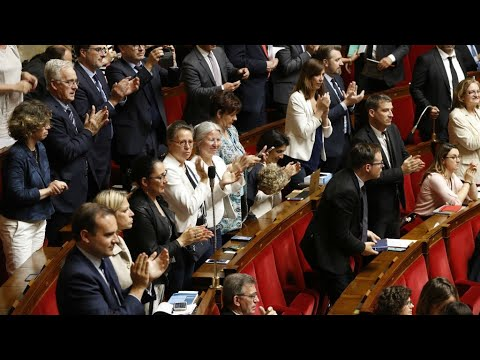 شاهد الجمعية الوطنية الفرنسية تتبنّى مشروع إصلاح السكك الحديدية