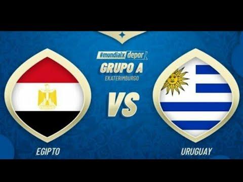 شاهد  بث مباشر للقاء مصر وأوروغواي ضمن منافسات المونديال