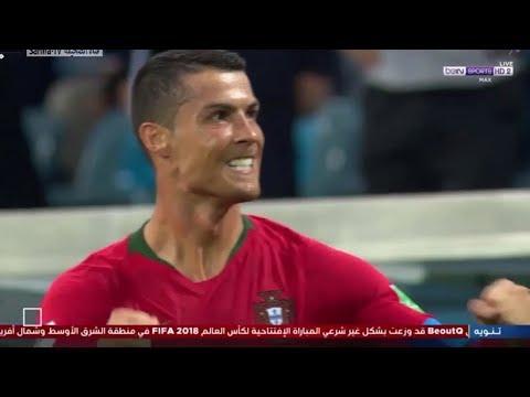 شاهد  ملخص مباراة إسبانيا والبرتغال في المونديال