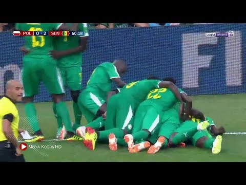 شاهد  أهداف مباراة السنغال وبولندا في كأس العالم