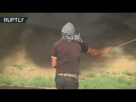 إصابة 206 فلسطينيين برصاص الجيش الإسرائيلي شرقي غزة