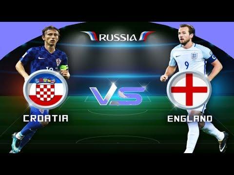 شاهد  بث صوتي لمباراة كرواتيا وانكلترا