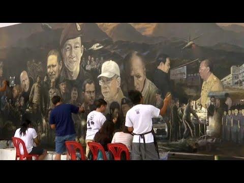شاهد فنانون يوثقون لحظات إنقاذ