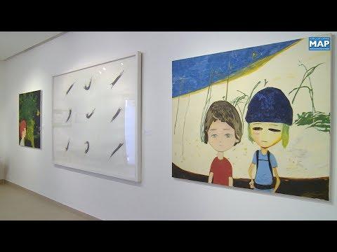 شاهد افتتاح معرض الحديقة الشتوية للفن الياباني المعاصر في الرباط
